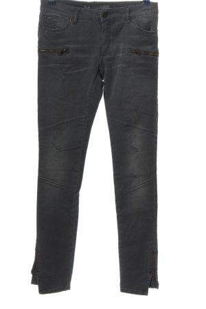 Superfine Pantalon taille basse brun style décontracté