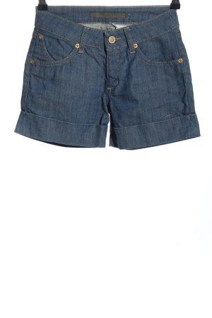Superfine Short en jean bleu style décontracté