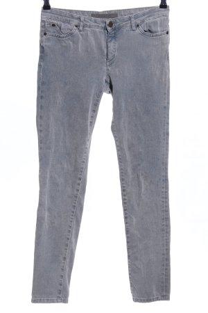 Superfine Jeans skinny gris clair style décontracté