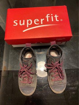 Superfit Zapatillas altas azul oscuro