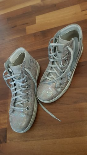 Lace-Up Sneaker silver-colored-light grey