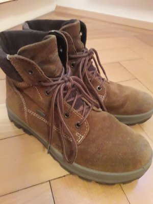 Lace-up Boots brown suede