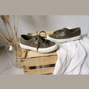 Superga 2750 Cotu Classic Sneaker khaki olivgrün Turnschuh