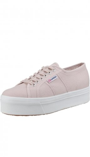 Superga 2790 LINE UP AND DOWN Sneaker Low | Gr. 39 | pink skin