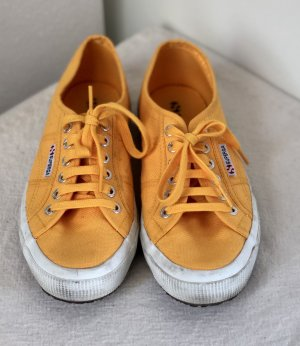 Superga Canvas Sneaker gelb 39