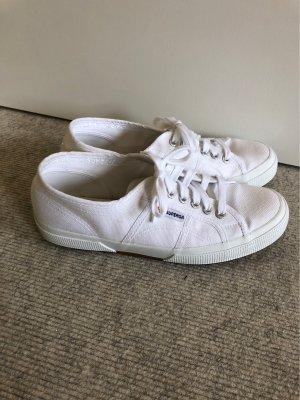 Superga Classic Sneaker weiß 40