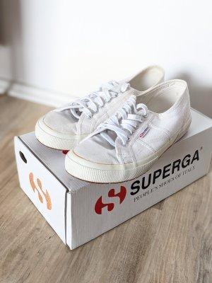 Superga Cotu 2750 Classic 43 Stoffschuhe Sneaker weiß