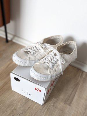 Superga Cotu Classic 39 Stoffschuhe Sneaker weiß