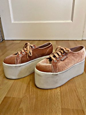 Superga Heel Sneakers rose-gold-coloured