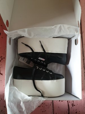 Superga Heel Sneakers white-black