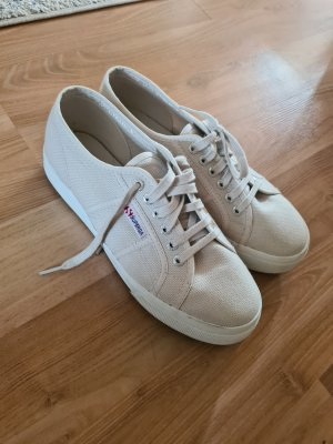 Superga Plateau Sneakers, 40, beige