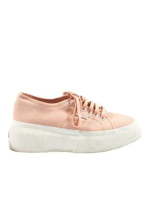 Superga Plateausneaker pink Casual-Look