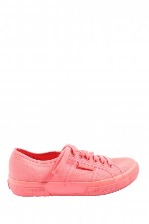 Superga Schnürsneaker pink Casual-Look