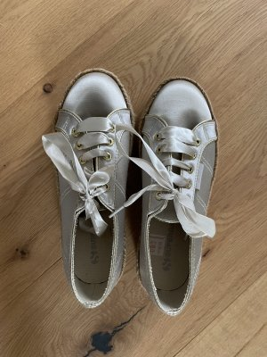 Superga Schuhe Gold neu