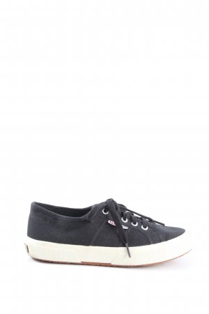 Superga Zapatos de patinador negro look casual