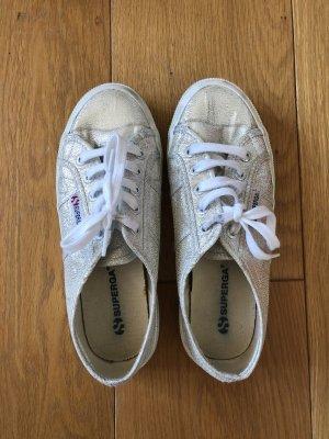 Superga Zapatos de patinador color plata