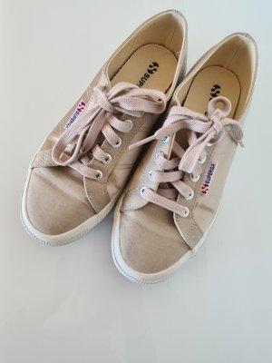 SUPERGA Sneaker, beige, Stoff, Gr.37