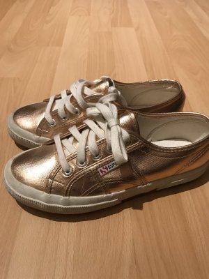Superga Sneaker gold/Roségold
