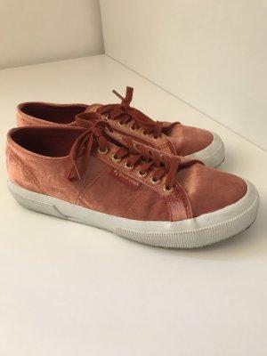 Superga sneaker samt rostrot/ orange
