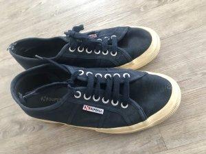 Superga Sneaker Schuhe Klassiker Gr.40 Dunkelblau top