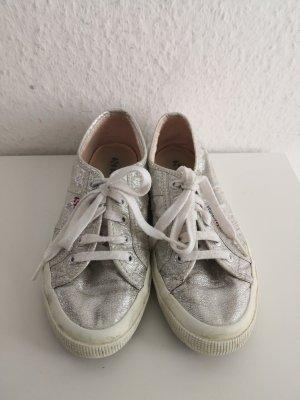Superga Sneaker Schuhe Silber
