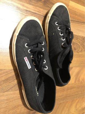Superga Sneaker Schwarz 38