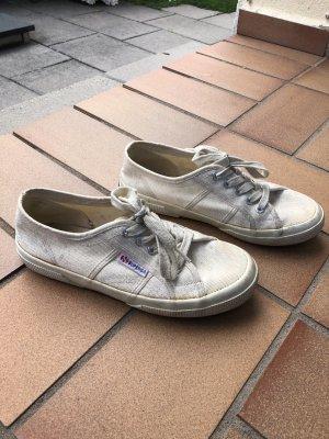Superga Sneaker Weiß Creme