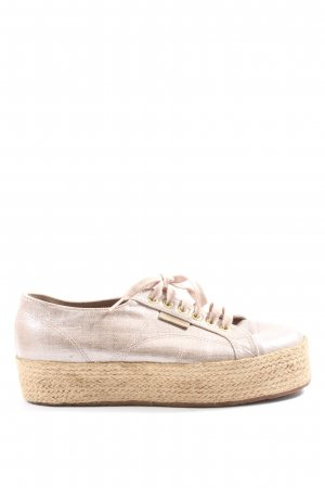 Superga Wedge Sneaker pink casual look