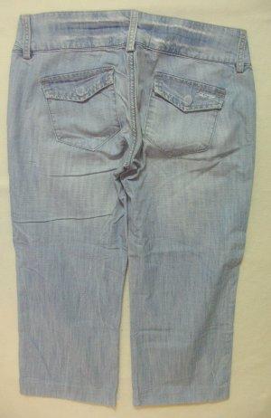Freeman t. porter Jeans a 3/4 blu fiordaliso-azzurro Cotone