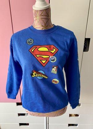 Superman Pullover blau Größe S