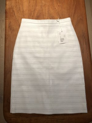 & other stories Leather Skirt white