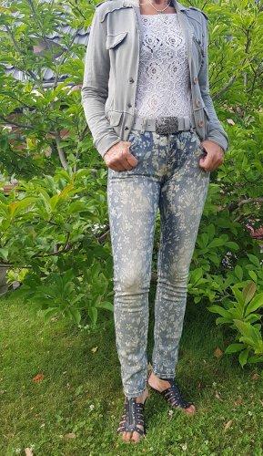 Blue Monkey Jeans stretch multicolore