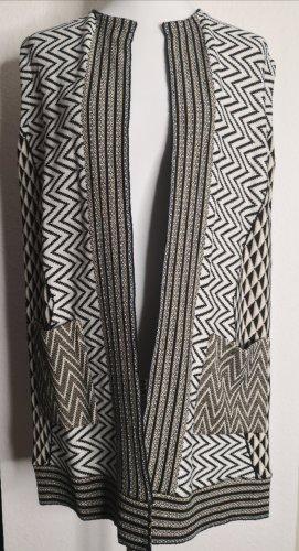 Kaos Gilet long tricoté multicolore