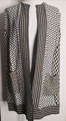 Kaos Long Knitted Vest multicolored
