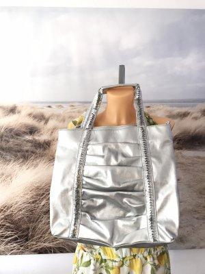 Avon Shopper silver-colored-light grey