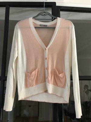 ESISTO Cardigan cream-dusky pink