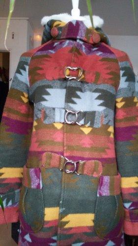 Marc Jacobs Manteau en laine multicolore laine vierge