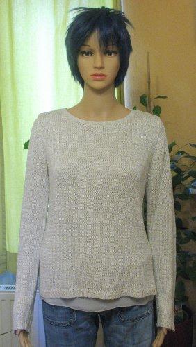 Street One Knitted Sweater cream-oatmeal