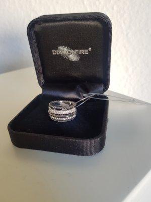 Burkhardt Zilveren ring zwart-zilver