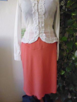Christian Berg Miniskirt bright red polyester