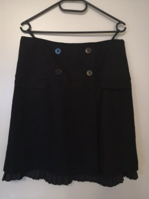 Hirsch Wollen rok zwart