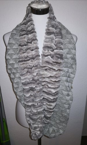 Collectioneighteen Tube Scarf light grey-grey