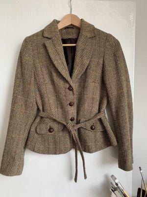 Blazer Tweed marrón arena-marrón claro