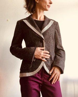 Biba Blazer in lana multicolore