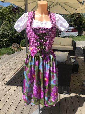 Heine Dirndl multicolore polyester