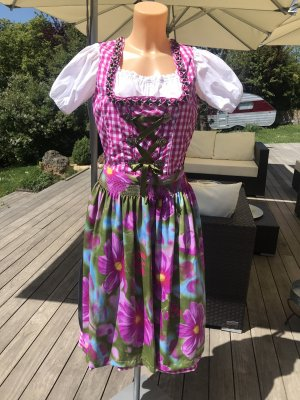 Heine Dirndl multicolored polyester