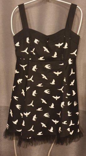Superschönes Kleid - Gothic - Lolita - Rock- mit dem Vogel-Muster