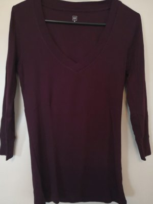 Gap T-shirt col en V rouge mûre