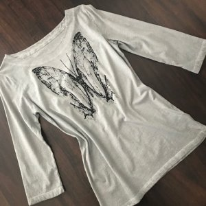 munich freedom T-Shirt silver-colored-black