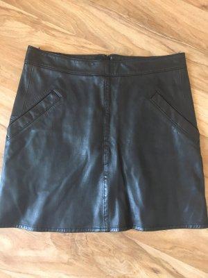 Marc O'Polo Leather Skirt black
